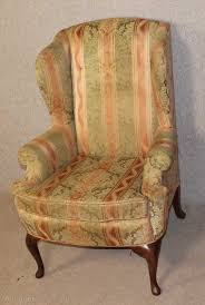 Upright Armchairs Antiques Atlas Upright Wing Back Armchair
