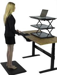 Computer Desk With Adjustable Keyboard Tray Changedesk Adjustable Standing Desk