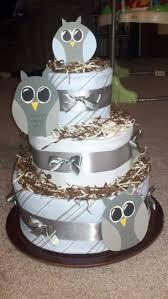 60 best diaper cakes images on pinterest owl diaper cakes baby