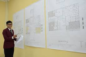 desain interior jurusan ujian tugas akhir kekaryaan mahasiswa deni septiawan prodi desain