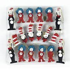 dr seuss cat in the hat set of 18 figurines seussical baby
