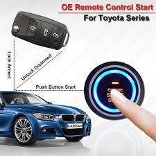 toyota car and remotes aliexpress com buy car engine push start button car alarm for