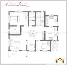 one level house plan 3 bedrooms 2 car garage 44 ft wide x 50 d