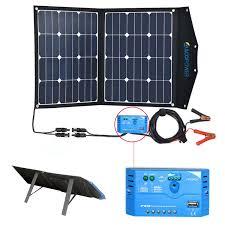Diy Solar Phone Charger Amazon Com Acopower 12v 70 Watt Foldable Solar Panel Kit