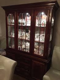 dark wood china cabinet dark wood display cabinet in dartford kent gumtree