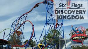 Six Flags Locations California Six Flags Discovery Kingdom Tour U0026 Review With The Legend Youtube