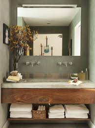 modern bathroom vanities countertop small spaces and concrete