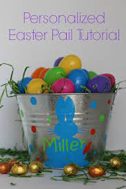 easter pail discovering easter essentials a personalized easter pail