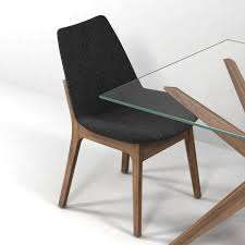 Modern Wood Chair Furniture Magna Glass Dining Table By Inmod Sohoconcept Eiffel Wood Chair 3d