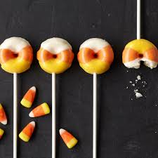 halloween candy corn mini donuts wilton