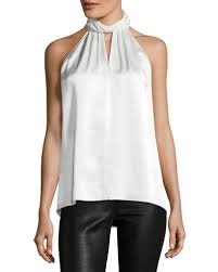 5f contemporary tops lace up silk u0026 linen tops at bergdorf goodman