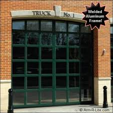 Glass Overhead Garage Doors Insulated Glass Garage Doors With Aluminarc Model Arched
