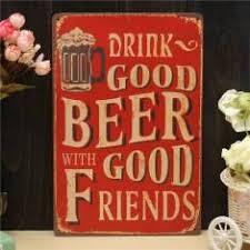 ã tole mariage tôle de bière dessin peinture métal ferblanterie pub mur taverne