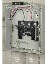 charming sub panel breaker box wiring diagram pictures inspiration