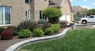 front entrance landscaping front yard landscaping interlocking