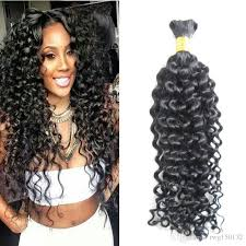 human hair suppliers human braiding hair bulk curly 100g no weft human hair bulk for