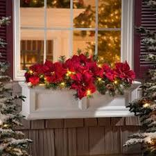 lighted christmas wreaths for windows christmas home tour by candlelight decorating window and box