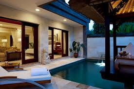 brilliant outdoor home swimming pool deco shows stunning small