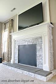 Diy Fireplace Cover Up Diy Stone Fireplace With Airstone Airstone Dark Colors And Dark