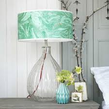 glass pumpkin table lamp lighting graham and green