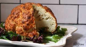 spicy whole roasted cauliflower recipe purewow