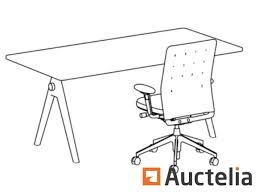 Vitra Conference Table Vitra Joyn Conference Desk 180cm X 90cm