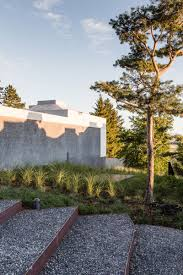 architecture luxury and modern exterior house design with stone
