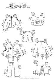 coloriages coloriage de vêtements pour bébé fr hellokids com