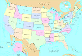 Map Of Usa Capitals by United States Map Of Us Capitals Major Cities And In The Map Of Us