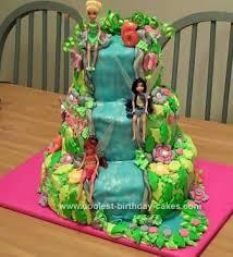 coolest tinkerbell friends cake design