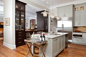 open floor plan kitchen living room dining room kitchen and living