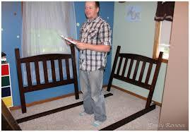 Big Lots  Simmons Tristan Bunk Bed  Zeopedia Memory Foam - Simmons bunk bed mattress