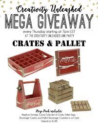creativity unleashed 192 u0026 crates u0026 pallet giveaway