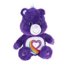 care bears 35th anniversary rainbow heart plush bear 1