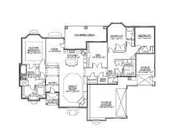slab grade rambler home hwbdo traditional house plan home