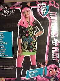 Howleen Wolf 13 Wishes Monster High Nip Girls Howleen Wolf 13 Wishes Halloween Costume