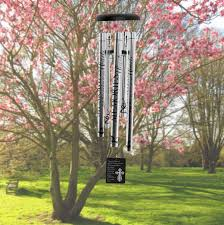 memorial gifts for loss of personalized wind chimes memorial gift for loss of