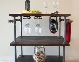 industrial wine rack etsy