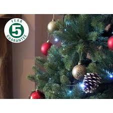 best artificial premium 8ft 240cm hinged tree indoor real
