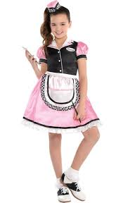 Boys Halloween Costumes Party Girls Dinah Waitress Costume Party Soo Cute