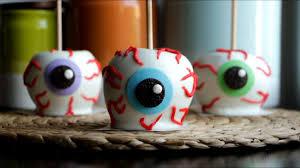 how to make chocolate apple eyeballs video myrecipes