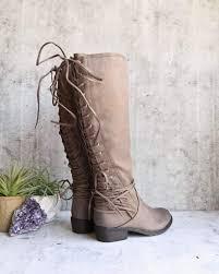 womens boots zip up back volatile marcelina knee high zip boot more