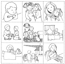 lds coloring pages i can be a good exle mormon share good works game lds clipart lds primary and object