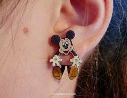 mickey mouse earrings 133 best images about disney fashion on disney