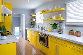 Grey And Yellow Kitchen Ideas Yellow Kitchen Decor Pictures Top Home Design
