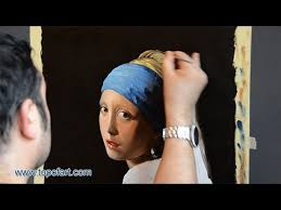 painting girl with a pearl earring reproduction vermeer the girl with a pearl earring