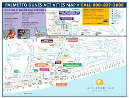 Map Of Hilton Head Island Palmetto Dunes Great Runs