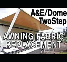 dometic rv awning fabric replacement instructions patio awnings rv
