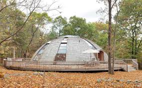 prefab wooden dome house rotates to invite sunlight in from every upstate dome home upstate new york dome domespace rotating dome house rotating