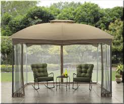 Patio Canopies And Gazebos Outdoor Gazebo Canopy 10x12 Shelter Cabin Style Patio Garden